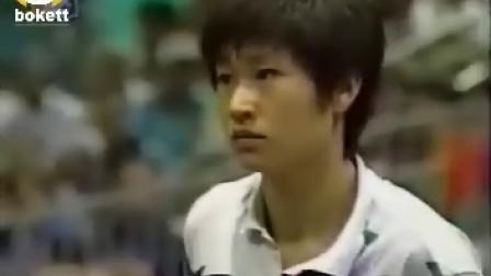 1996奥运会女单决赛:邓亚萍 VS 陈静