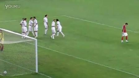 20110803皇马恒大友谊赛 C罗进球
