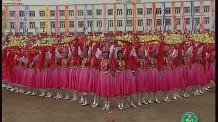 庆祝前郭尔罗斯蒙古族自治县成立50周年 安代舞表演