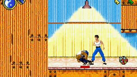 GBA『Bruce Lee: Return of the Legend』