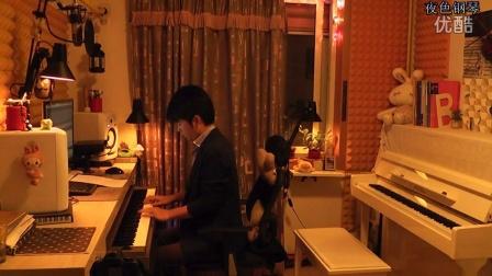《喜欢你》夜色钢琴版_tan8.com