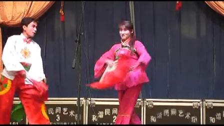 临县二人台秧歌  在下西坡演出