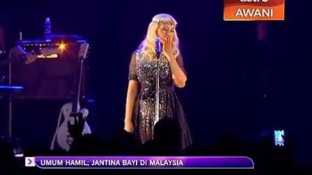 【XCN】Christina Aguilera吉隆坡演出官方片段1