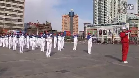 齐齐哈尔市第二套鹤舞?#19978;?#24555;乐舞步有氧健身操(14节全)