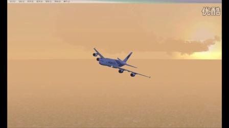 FSX-A380上海虹桥机场场景与效果