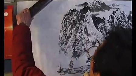 楚州山水画名家——刘鸿生