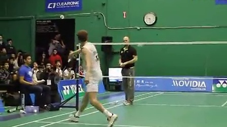 Peter Gade Trick Shots Part 1 - ClearOne Badminton Centre
