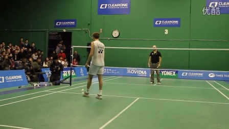 Peter Gade Trick Shots Part 2 - ClearOne Badminton Centre