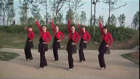 广场舞《蓝色的蒙古高原》