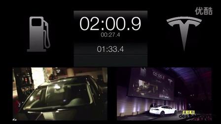 特斯拉汽车公司推出电动汽车90秒快换电池服务