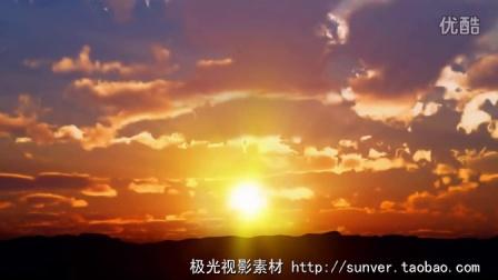 日出日落太阳光芒天空风景