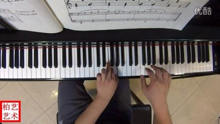 黄昏的歌—约翰.汤普森简易钢琴教程第二册