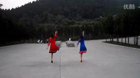 叶子广场舞想西藏(背面)[]