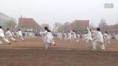 青云双语学校第八届运动会开幕式