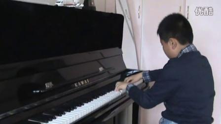 钢琴练习《放马曲》