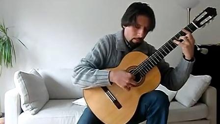 古典吉他独奏-水边的阿迪丽娜
