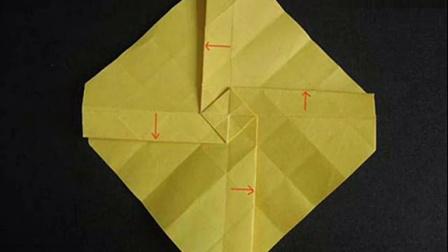 简单玫瑰花的折法 折纸大全