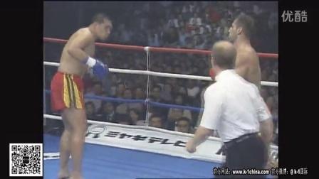 K-1日本GP冠军赛-Andy Hug VS Nobu Hayashi