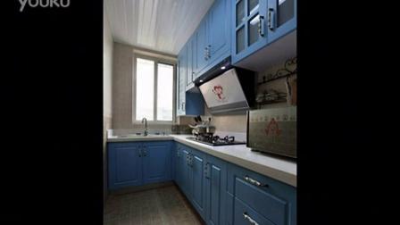 交换空间65平米婚房装修 圆一个地中海的梦装修效果图