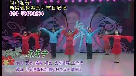 大长今杨艺2012广场舞标清