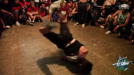 【粉红豹】差点又打架!Bboy_Lilou_vs_Brazil_Cypher_Breaking