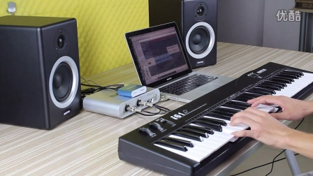 midiplus Mini Engine外置音源 连接MIDI键盘演示