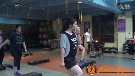 广州黄埔菲力斯健身俱乐部--踏板操