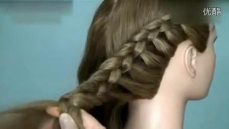 【蜈蚣辫麻花辫】五股辫的编法