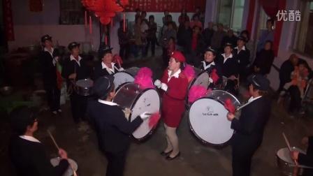 万荣四望村英姿女子军鼓队