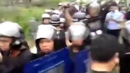 广西特警暴与村民发生冲突, 当地称想把事情压下来
