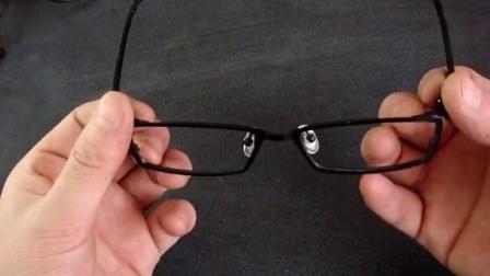全框钛合金镜架调整 卓美眼镜
