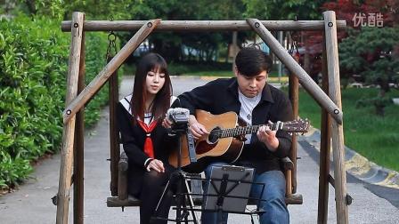 吉他弹唱 来自星星的你Hello(郝浩涵和Amylee)