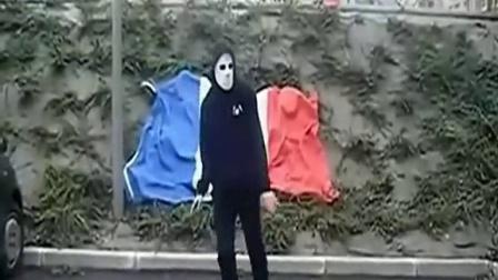 法国面具男鬼步舞剪辑加长超清版