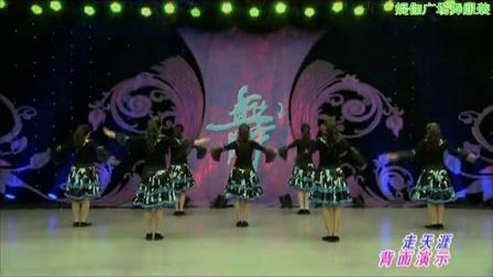 杨艺广场舞视频教学与欣赏走天涯背面媞伽动动美久云裳广场舞