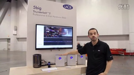 LaCie Thunderbolt 2 Sneak Peek at NAB 2014