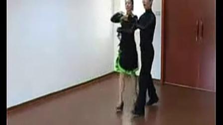 健身交谊舞三步踩示范教学(2)