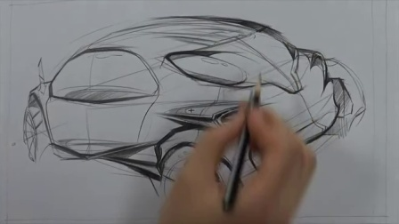16 car design sketching