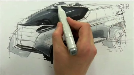 7 car sketch and design