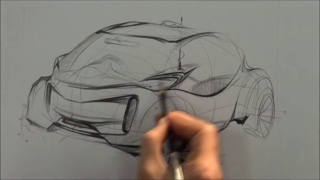 15 car design sketching