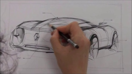 34 car sketch and design