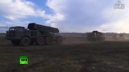 俄军远程打击力量大规模演练