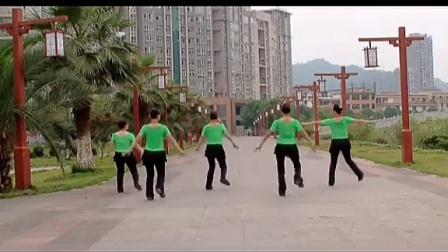吉美广场舞  山歌情