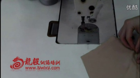 et软件视频 打版基础教程 服装打版视频 服装cad第33节.边袋的车工缝制方法