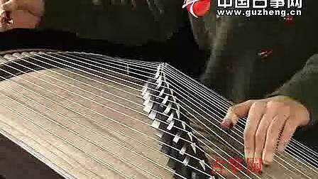 宋心馨古筝教学视频 渔舟唱晚2