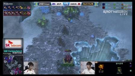 5月11日SPL2014R3 三星 vs MVP(1)Roro(Z) vs Sinper(Z)