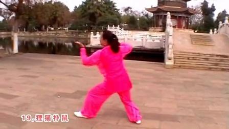李斌演练沙式太极拳三路