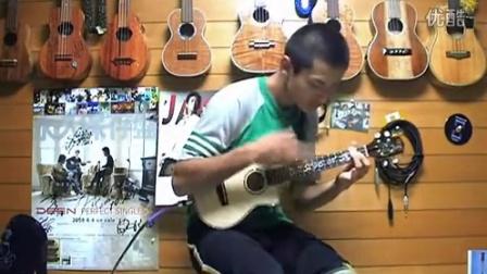 Hula girl フラガール v ukulele