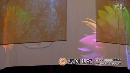 深圳源创世纪,时装秀新品发布会全息投影,全息投影膜,空中成像