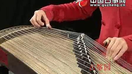 宋心馨古筝教学视频 纺织忙3