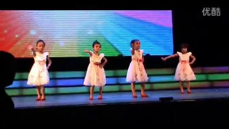 儿童舞蹈幼儿舞蹈甩葱歌民族 2013 比赛高清